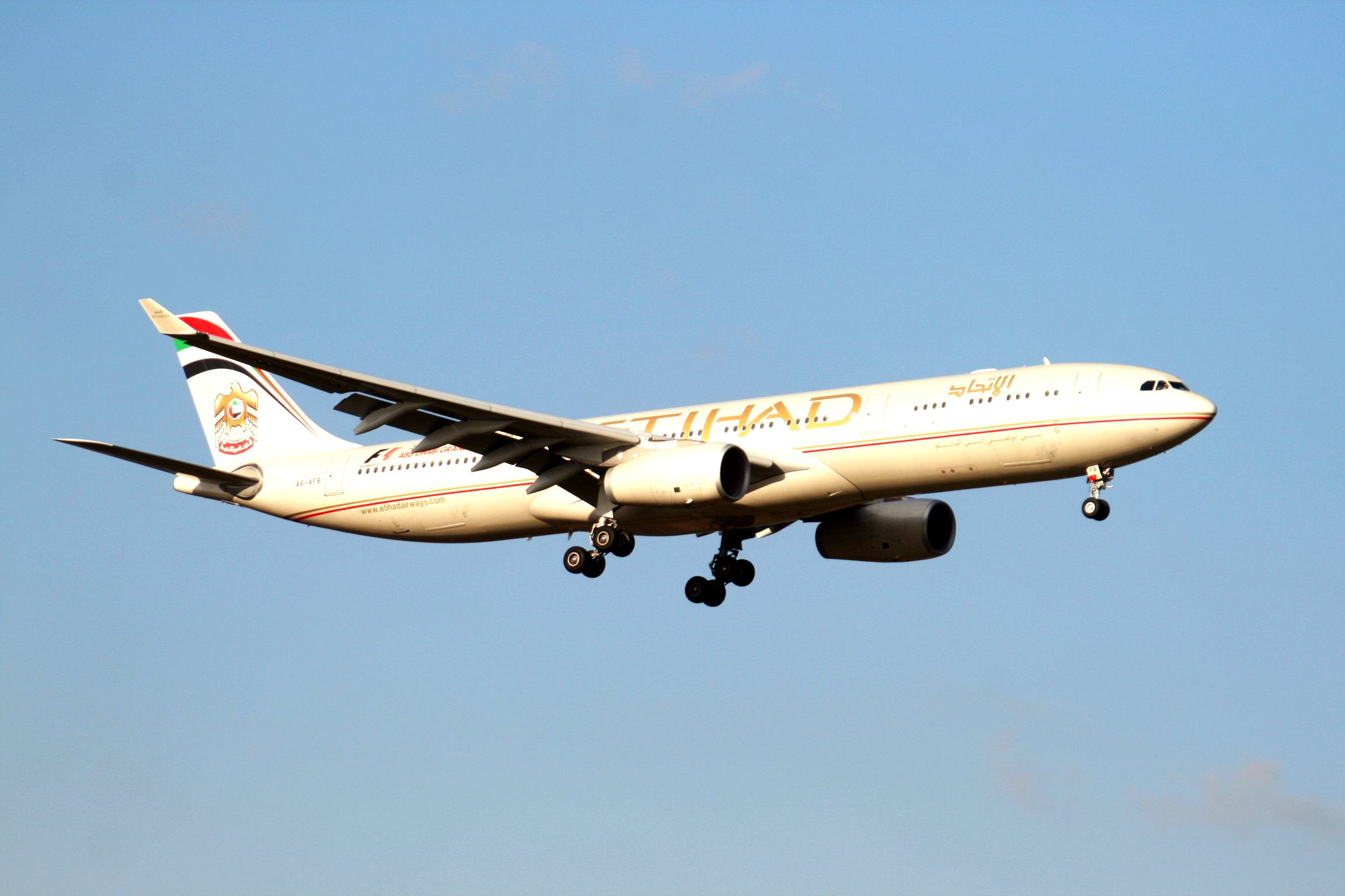 Etihad TOP 10 airlines in the world
