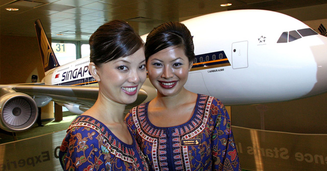 Singapore Airlines TOP 10 airlines in the world